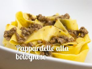 Pappardelle alla bolognese - Spriz Express