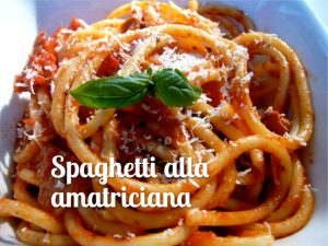 Spaghetti alla amatriciana - Spriz Express
