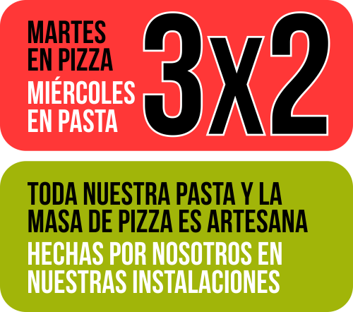 OFERTAS PIZZA Y PASTA - Spriz Express Castelldefels - Sept 2019